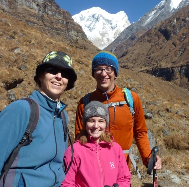 … sehr begeistert, dickes Lob (Dani, 27 und Michi, 29, Annapurna)