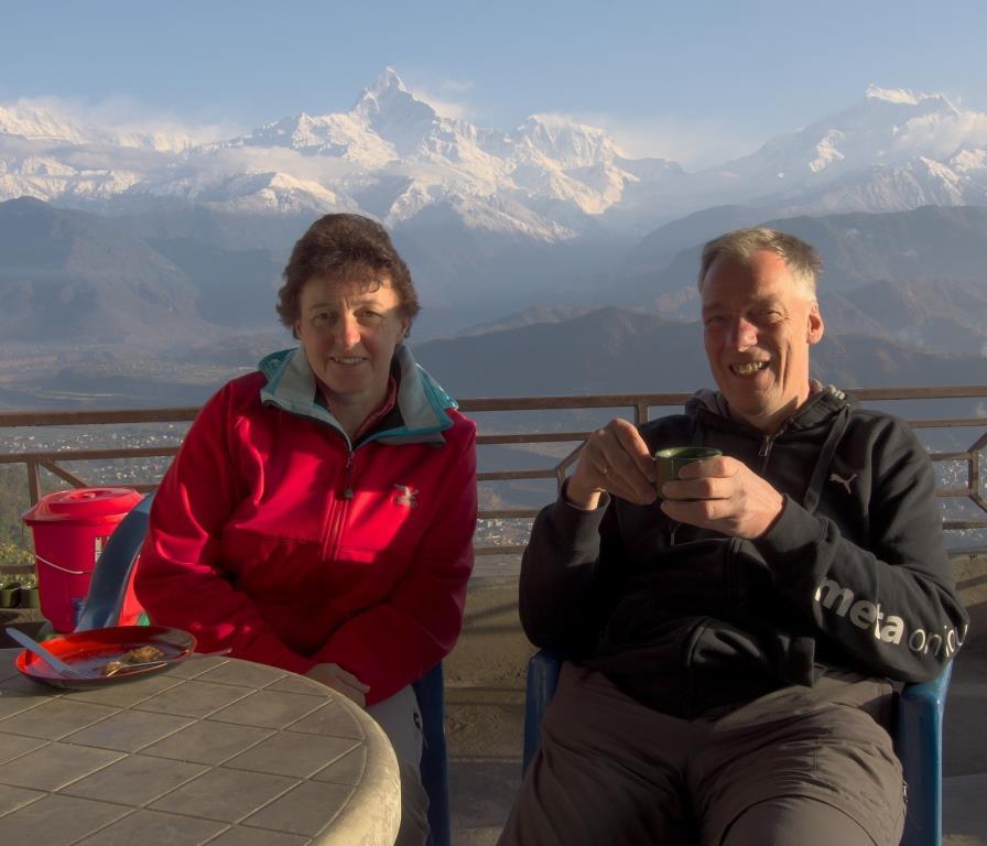 Eine tolle Reise perfekt organisiert (Inge und Günther, Nepal Rundreise und Trek)
