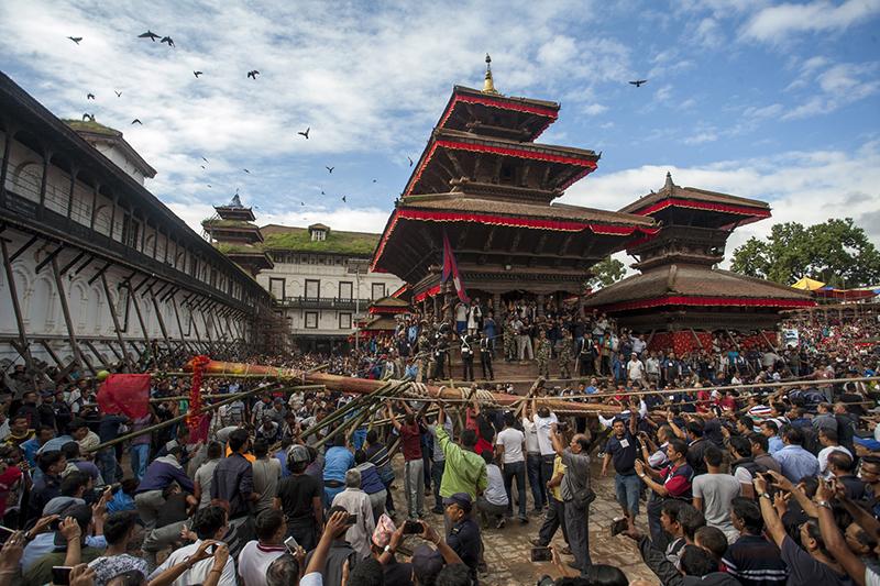 Nepal: heute wird das Indra Jatra Fest gefeiert