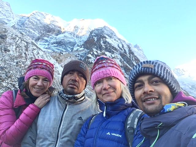 super Organisation und tolle Betreuung (Marita und Sabine, Annapurna-Trekking)