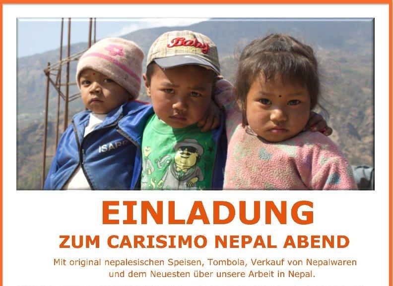 Carisimo Nepal Abend am 25. Nov 2017, Yak&Yeti München, ab 18 Uhr