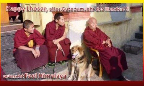 Happy Lhosar – zum Jahr des Hundes