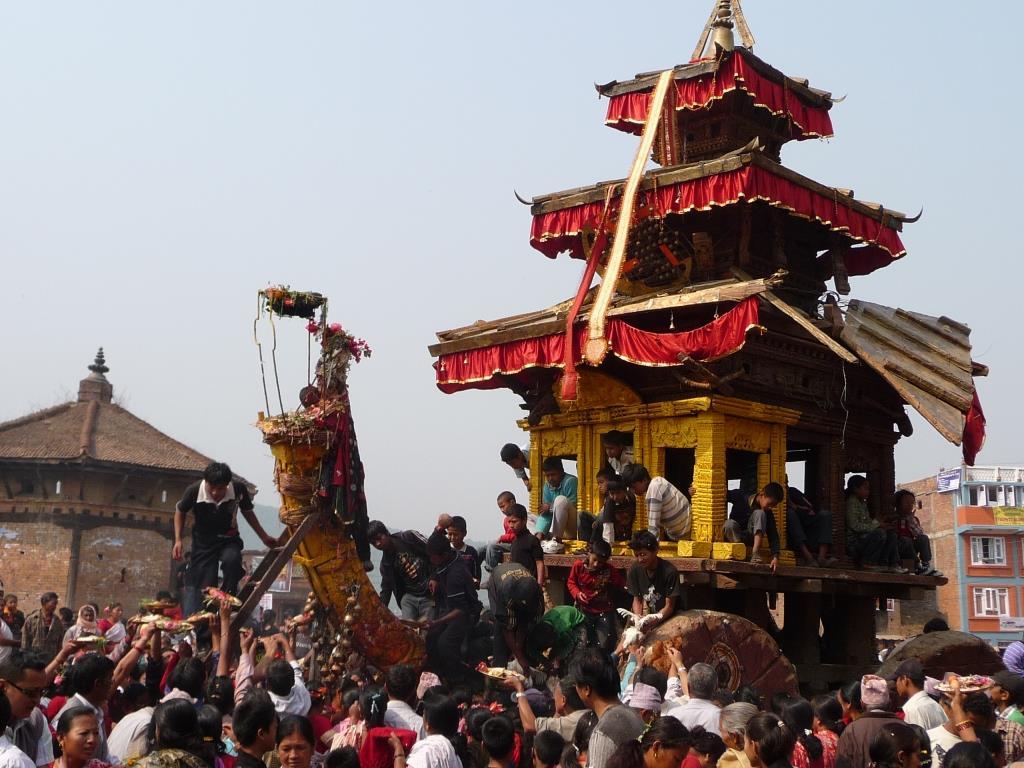 Alles Gute für das Neue Nepali Jahr 2075
