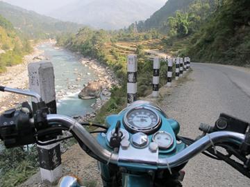 Nepal Motorrad-Rundreise