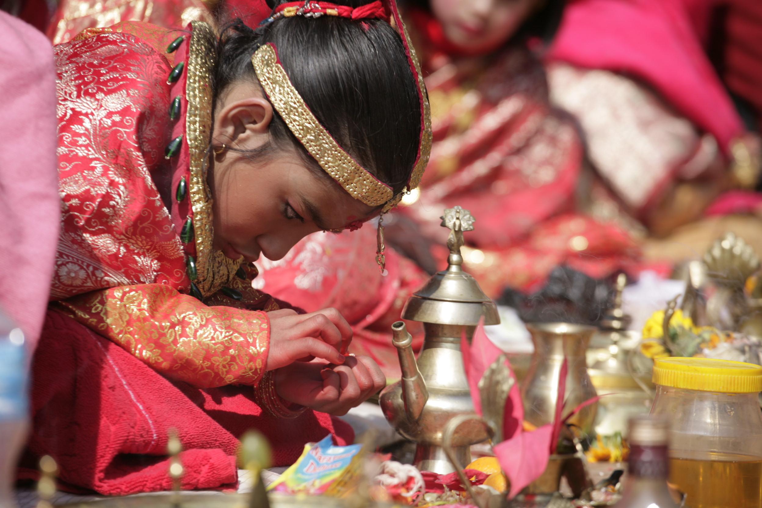 TV-Tipp: Kumaris, die Kindgöttinnen von Nepal