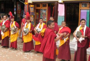 Buddhistisches Festival in Boudanath