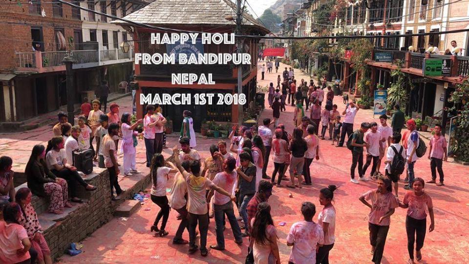 Happy Holi (Festival der Farben)