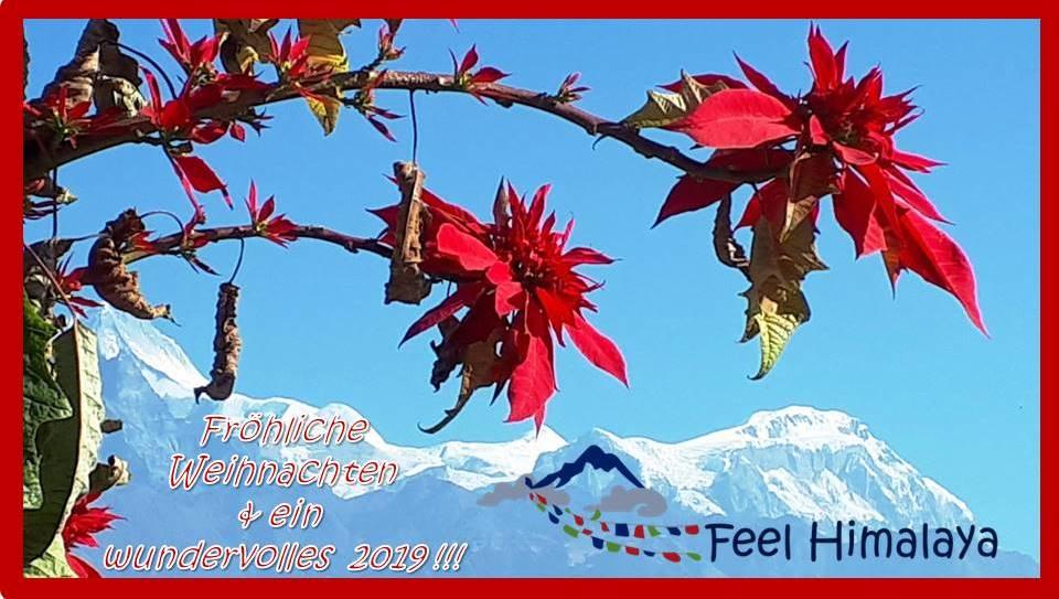 Weihnachtsgrüße aus Nepal