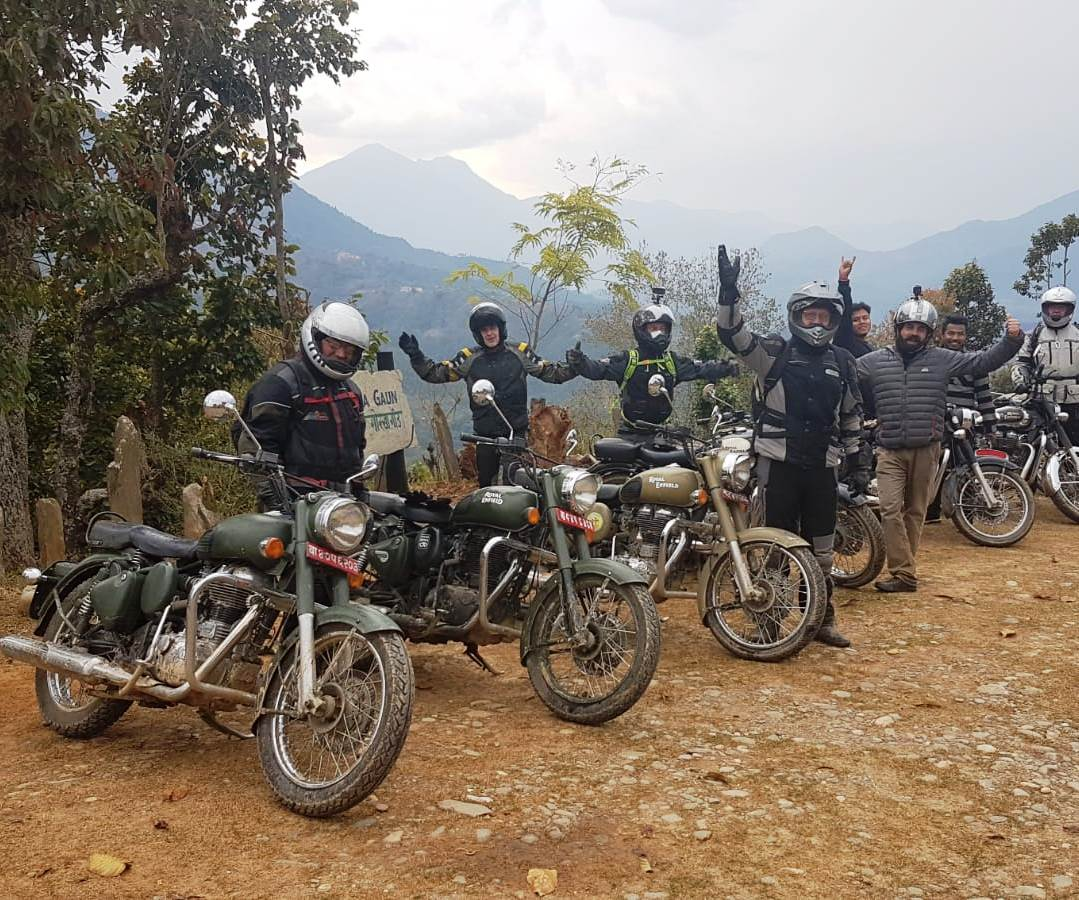 Royal Enfield Trip durch Nepal