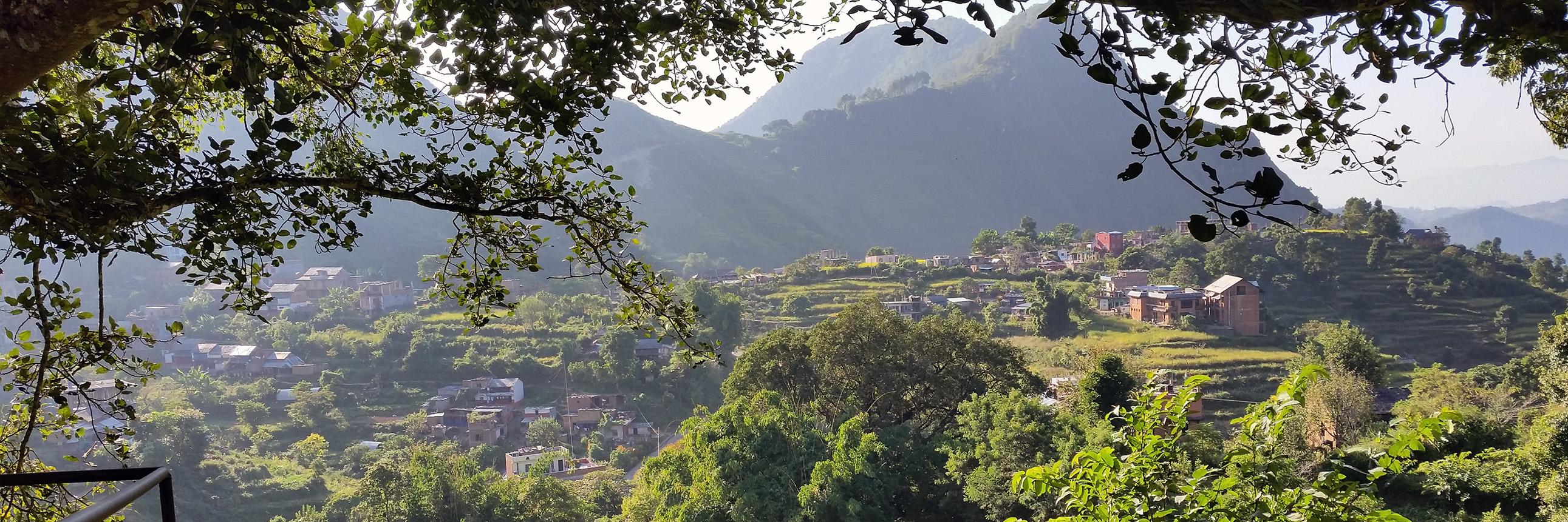 Hügellandschaft um Bandipur