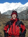 Julia Opitz am Himalaya