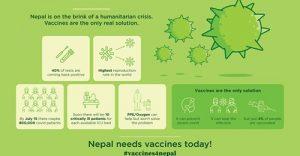 Impfstoff für Nepal